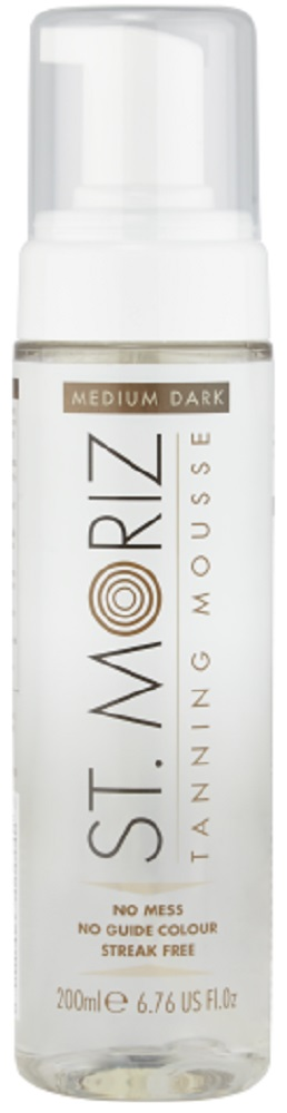 Medium Dark Clear Tanning Mousse 200ml | St. Moriz