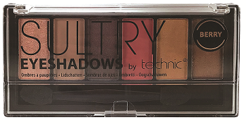 Sultry Berry Eyeshadow Palette | Technic